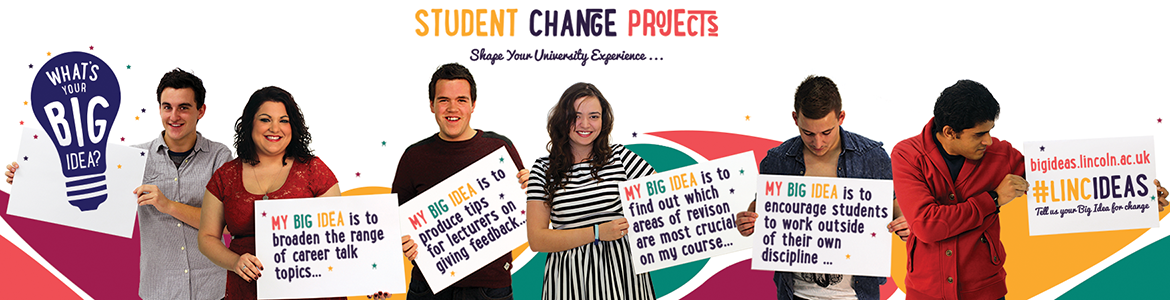 Student Change Projects - What's your big idea?